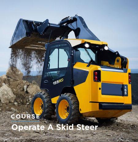Operate a Skid Steer Training Sydney